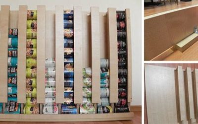 How To Build Your Own Wall Hanging Can Rotator