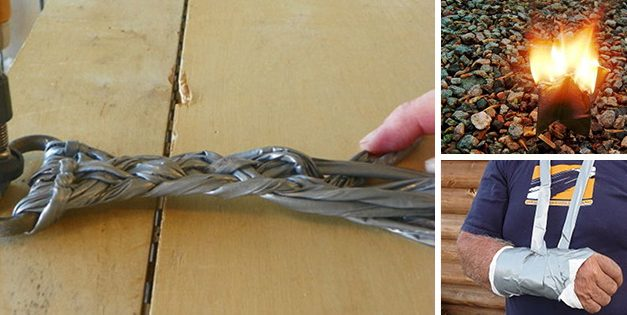 25 Practical Uses For Duct Tape Around The House