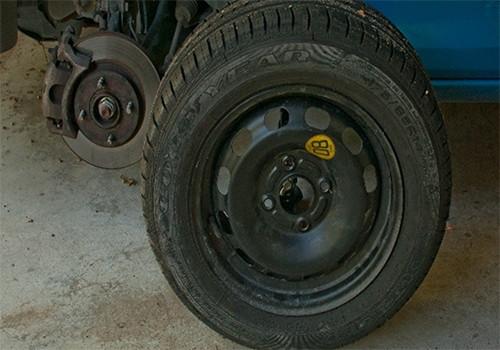 check the spare tire