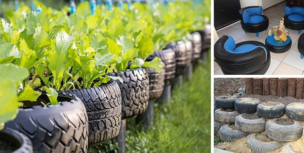 9 Ingenious Uses For Old Tires