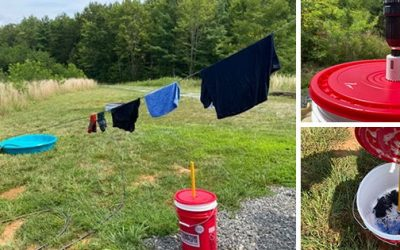 DIY Cheap & Portable Washing Machine